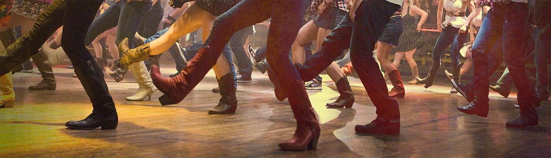 Image of Line Dancers & Cowboy Boots